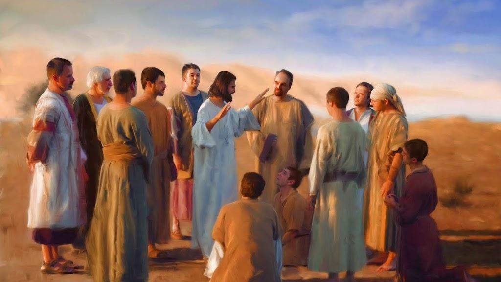 LÊN ĐƯỜNG THI HÀNH SỨ VỤ  VỚI CHÚA GIÊSU