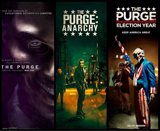 Serial Film The Purge: Ketika Kriminalitas Menjadi Legal