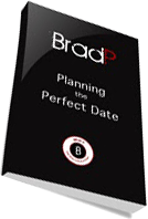 Cover of Brad P's Book Planning The Perfect Date