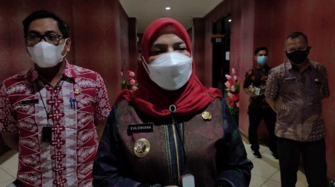 Bandar Lampung PPKM Darurat, Eva Dwiana Kaget