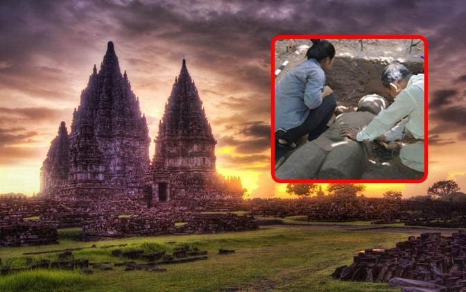 Arqueólogos descobrem a estátua MASSIVE