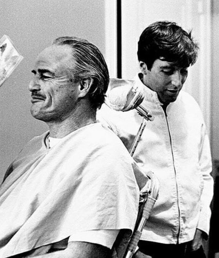 Al Pacino e  Marlon Brando