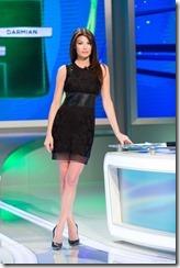 Ilaria-D'Amico-In-Black-Dress...