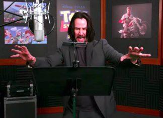 [Vidéo]Cette vidéo dans les coulisses de Keanu Reeves qui exprime un nouveau personnage de Toy Story est lié pour vous faire sourire