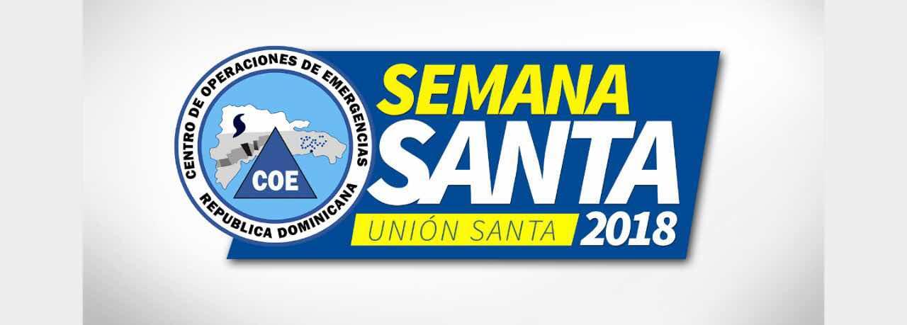 El Centro de Operaciones de Emergencias (COE) anunció el Operativo Unión Santa correspondiente a la Semana Santa 2018.