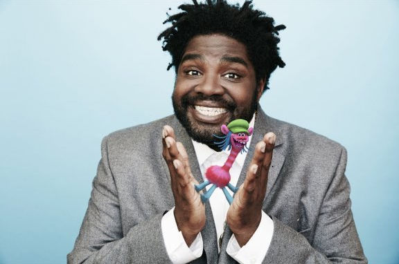 Ron Funches voices Cooper in DreamWorks Animation's TROLLS.