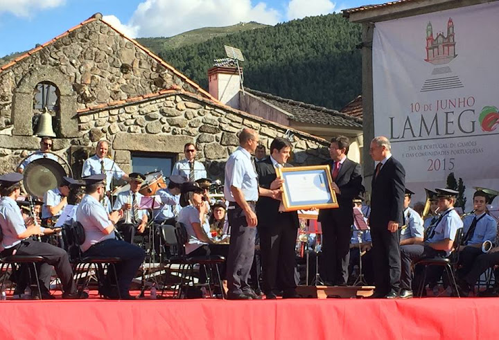 Medalha de Ouro da Cidade distingue Filarmónica de Lalim