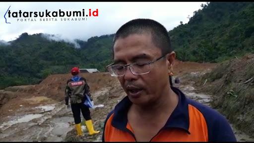 Kepala Seksi Kedaruratan BPBD Kabupaten Sukabumi Eka Widiaman