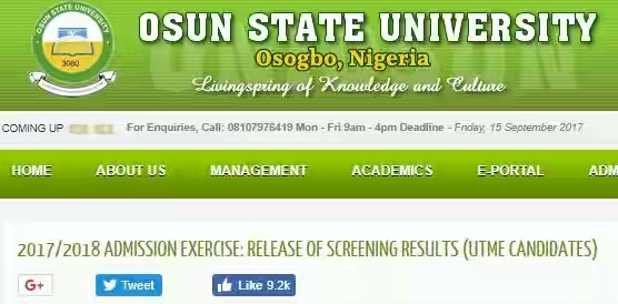 %255BUNSET%255D - UNIOSUN Post Utme Result 2017/2018 is Out – Check Here http://admissions.uniosun.edu.ng/
