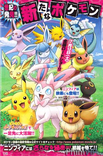 Bửu Bối Thần Kỳ Phần 19: Kết Nối Bạn Bè - Pokemon: Pikachu To Eevee Friends poster