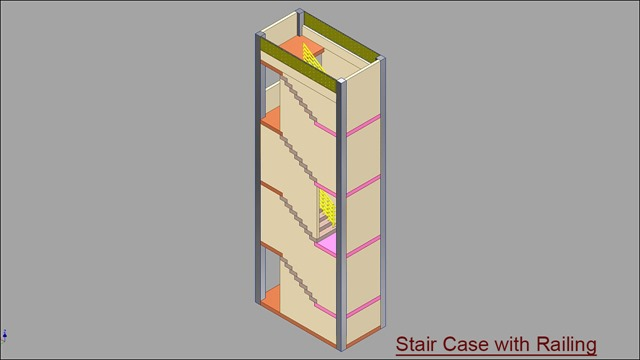 Double Fold Stair Case with Railing.jpg_2
