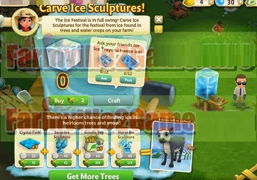get farmville 2 Ice Carving Table