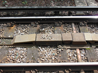 Монеты на железной дороге