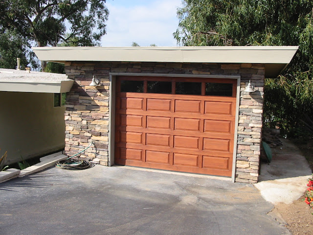 Garage Door Refinishing Del Mar 92014 TWP  Peek Brothers Painting
