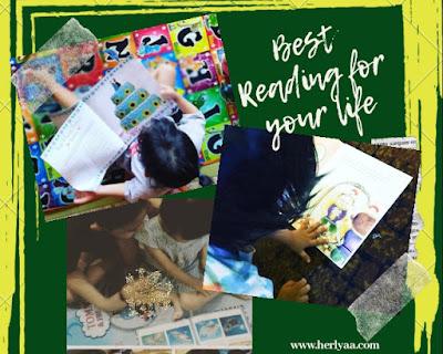 Let's Read budayakan membaca di rumah