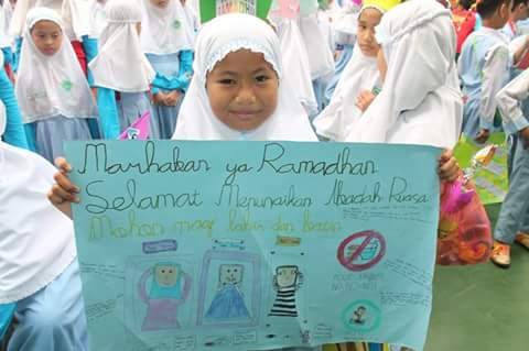 Sambut Ramadhan, SDIT Thariq Bin Ziyad Lakukan Tarhib Ramadhan