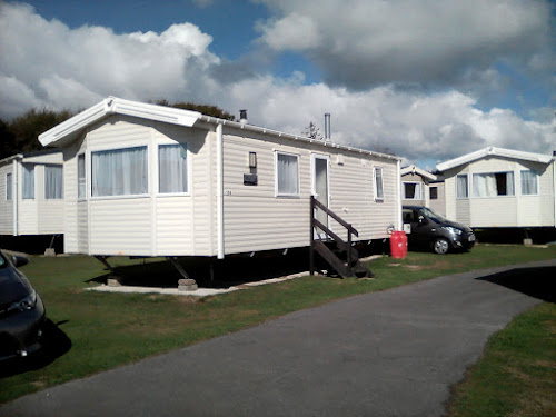 Camping  at Seadown Holiday Park
