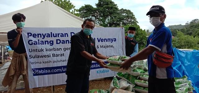 Melalui Lazismu Sulbar, Penyaluran Bantuan Korban Gempa Tiga Pekan Terakhir Mencapai 935 Juta