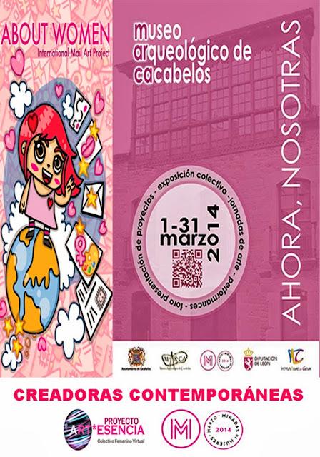Ahora Nosotras, Exposición en el Museo de Cacabelos