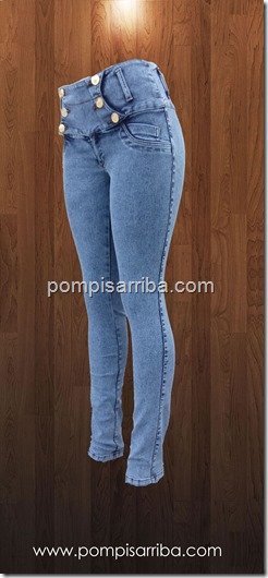 Jeans piedra natural