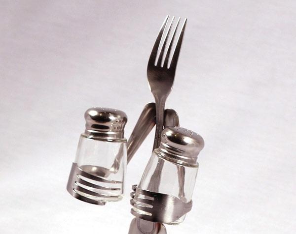 ===Con cuchara, cuchillo y tenedor...=== Cucharas