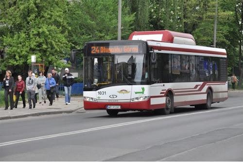 Radom. Autobus zasilany sprężonym gazem ziemnym