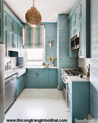 Những thiết kế thông minh cho nhà bếp nhỏ hẹp - <strong><em>Thiết kế nội thất</em></strong>-6