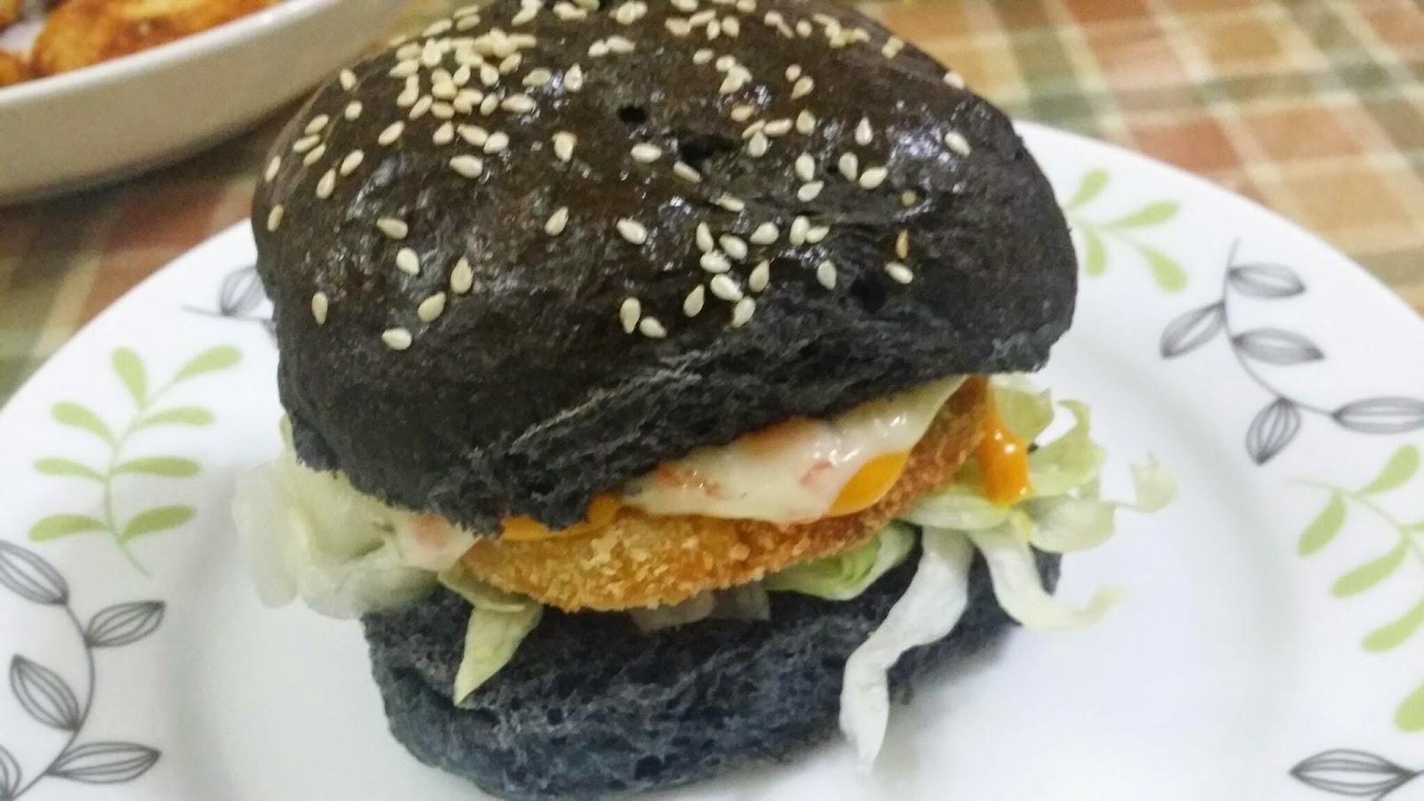 Buat Sarapan, Bekal SekolahKerja - Burger Ayam Isi