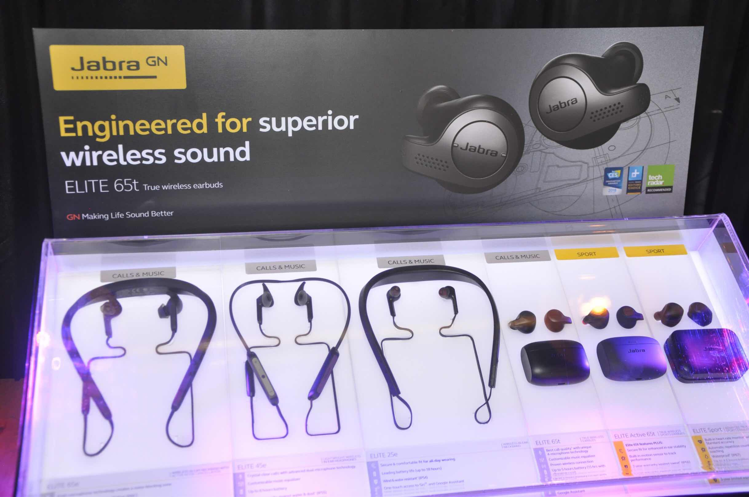 761eae71a8b Jabra is launching fournewest members of the Elite series in the  Philippines - the Elite 45e, Elite 65t, Elite Active 65t, and Elite 65e.