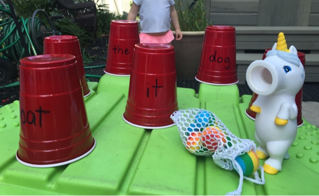 Sight Word Splat With The Unicorn Popper Views From A