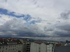 Kühl bei 17.3°C und windig mit Spitzen um die 30 km/h #Wetter #Wien #Herbst