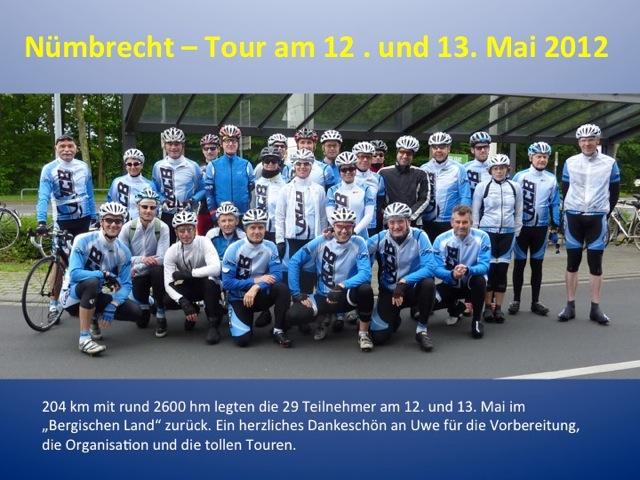 Nümbrecht-Tour 2012