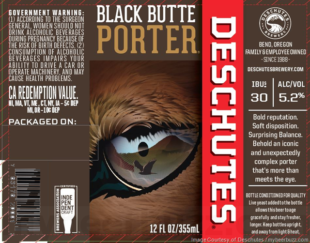 Deschutes Updating Black Butte Porter & Obsidian Stout