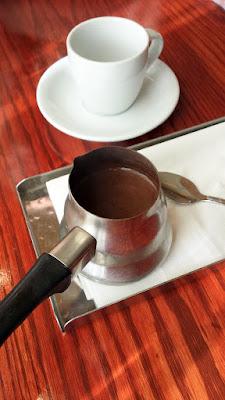 Sludgey thick hit of Turkish Coffee to start at Ya Hala Brunch Lebanese Restaurant