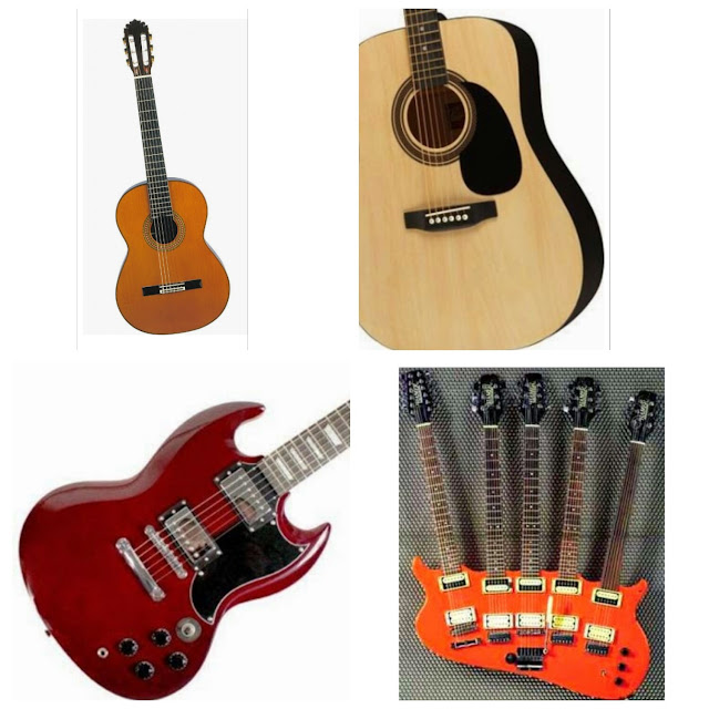 Type of Guitar and Its Price