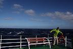 Joshua at Sea (Navimag Boat Trip, Chile)