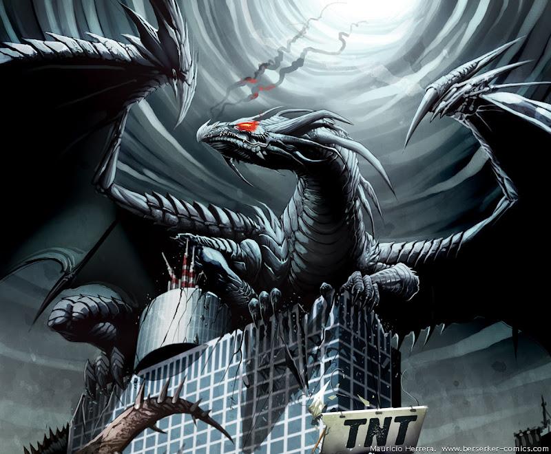 Black Dragon Tnt By El Grimlock1, Celtic And Druids