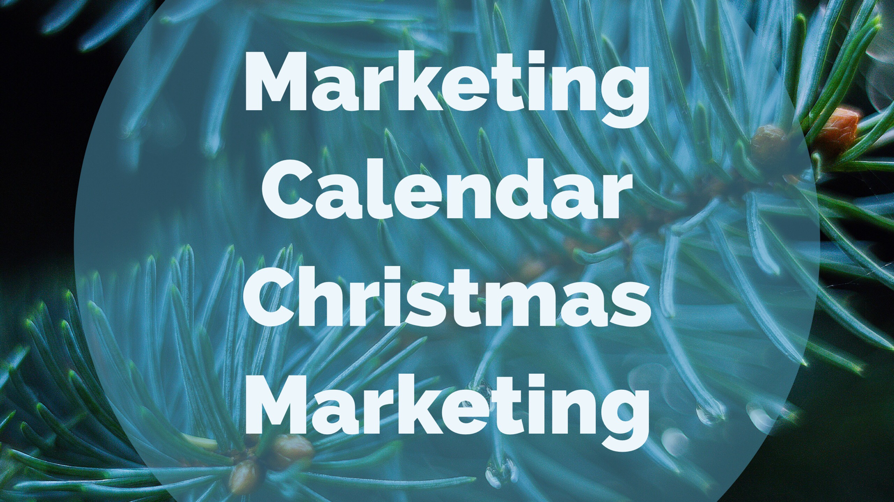 marketing calendar for seasonal social media marketing Facebook