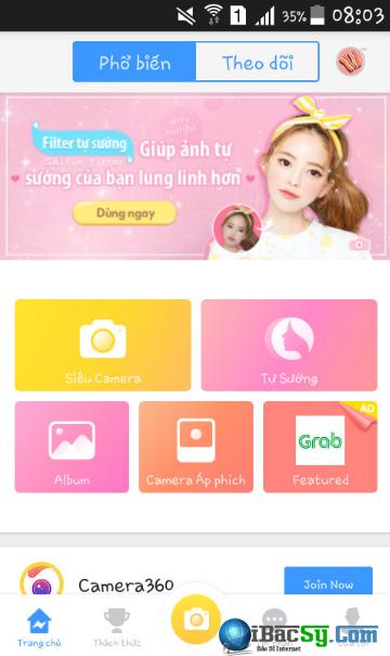 Hướng dẫn tải và cài đặt Camera360 Lite cho điện thoại Android + Hình 7