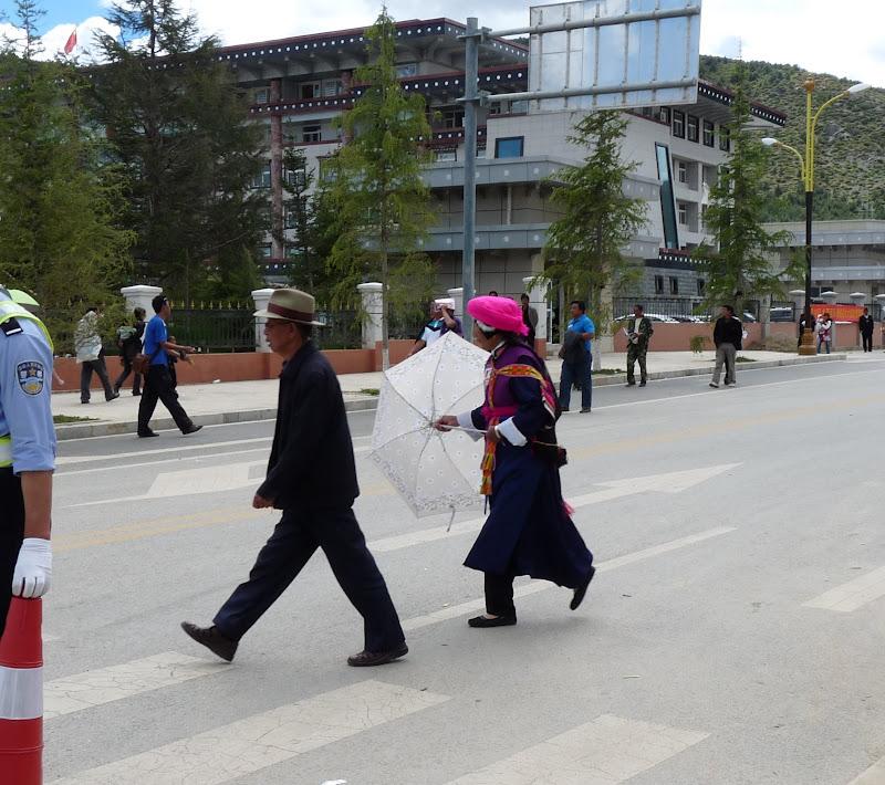 Chine. Yunnan.Shangri la Course hippique annuelle - P1250781.JPG