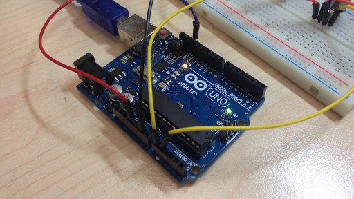 Arduino Project Temperature Gas Sensor LM35 TGS2620