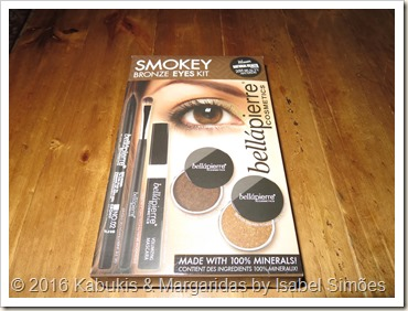 Smokey Bronze Eyes Kit da Bellápierre