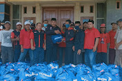 Ranting dan PAC PDI Perjuangan Dapil IV Karawang Terima Sembako