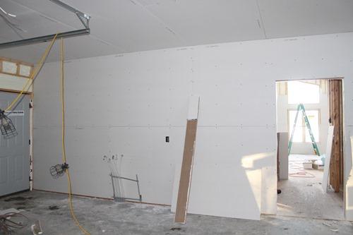 garage sheetrock 4