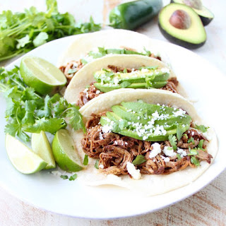 Chipotle Honey Pulled Pork Tacos.