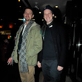 WWW.ENTSIMAGES.COM -   Christian Bonke and Andreas Koefoed  arriving at   Ballroom Dancer Film Screening Q & A Prince Charles Cinema Leicester Place  London January 15th 2013                                                       Photo Mobis Photos/OIC 0203 174 1069