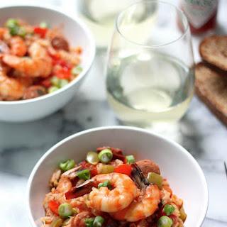 Shrimp & Chorizo Cajun Jambalaya