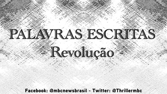 PALAVRAS ESCRITA Revolução MrLaville