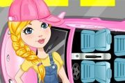 سيارة ليزا الوردية