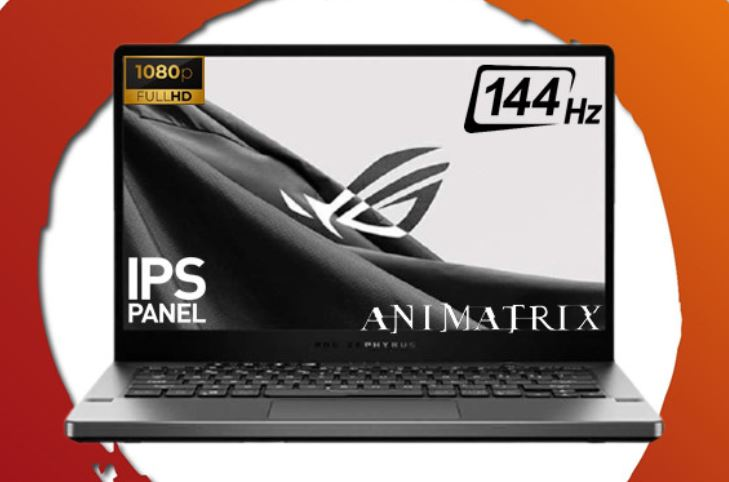 Asus ROG Zephyrus GA401QC R735B6T-O, Laptop 20 Jutaan Bertenaga Ryzen 7 5800HS Paling Ringkas